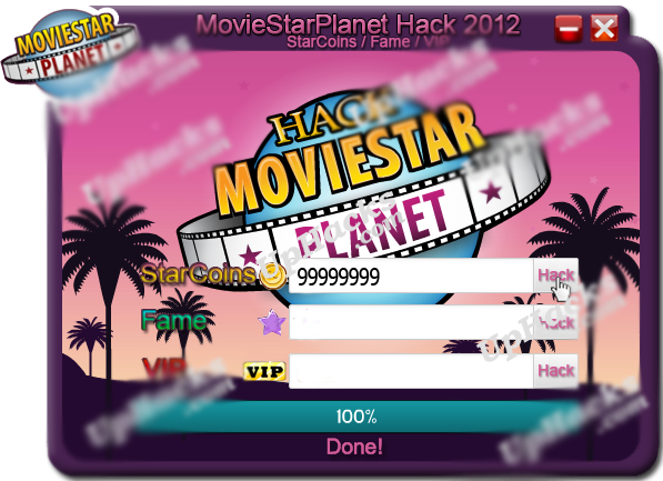 MovieStarPlanetHack